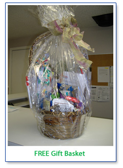 Free gift basket from Onsite Computer